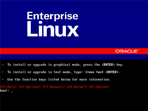 Oracle Enterprise Linux 5 Kurulumu